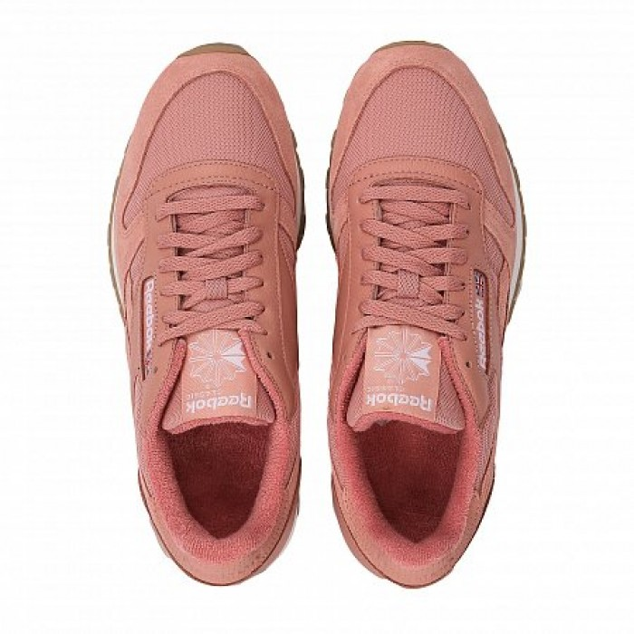 Кроссовки Reebok Classic CLASSIC LEATHER MU (Цвет Pink)