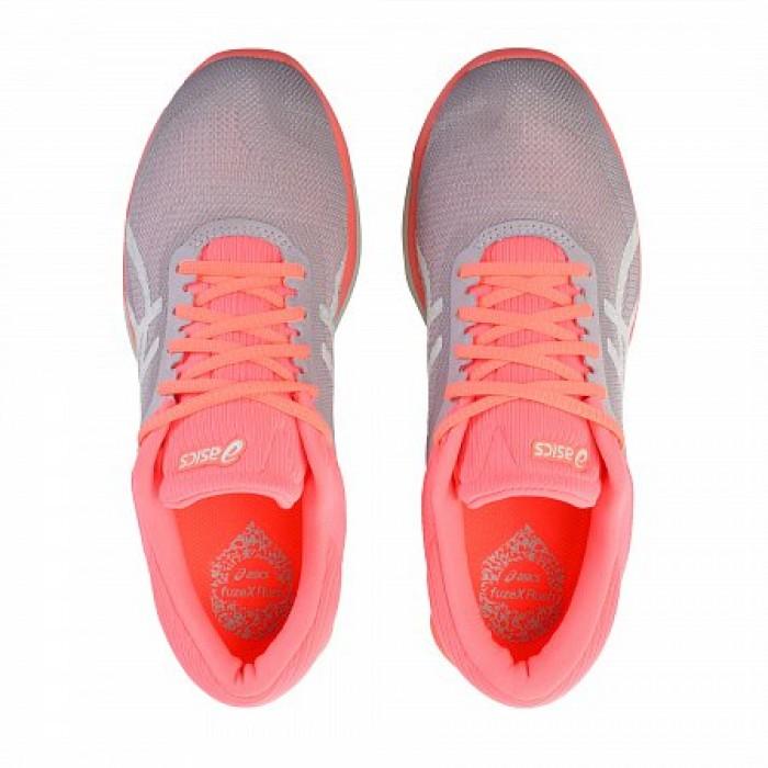 Кроссовки ASICS FUZEX RUSH (Цвет Pink-White-Orange)