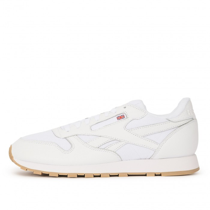 Кроссовки Reebok Classic CLASSIC LEATHER MU (Цвет White)