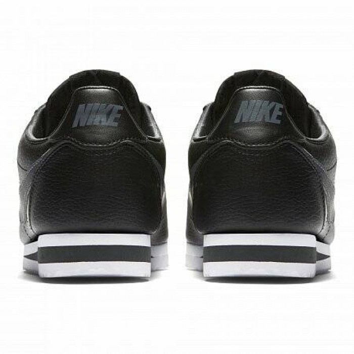 Кроссовки Nike CLASSIC CORTEZ LEATHER (Цвет Black)