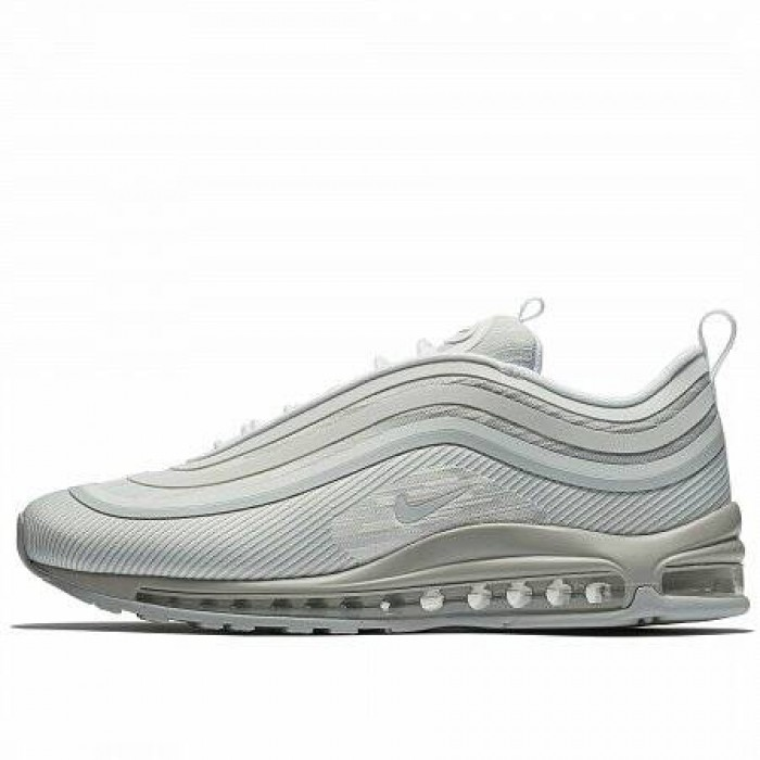 Кроссовки Nike AIR MAX 97 ULTRA '17 (Цвет Pure Platinum-Pure Platinum-White)