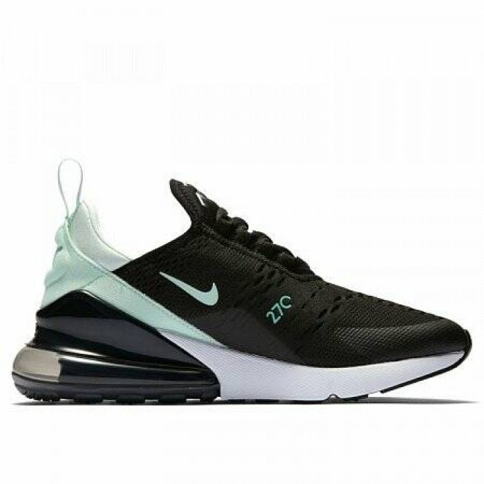 Кроссовки Nike AIR MAX 270 (Цвет Black-Igloo-Hyper Turq-White)