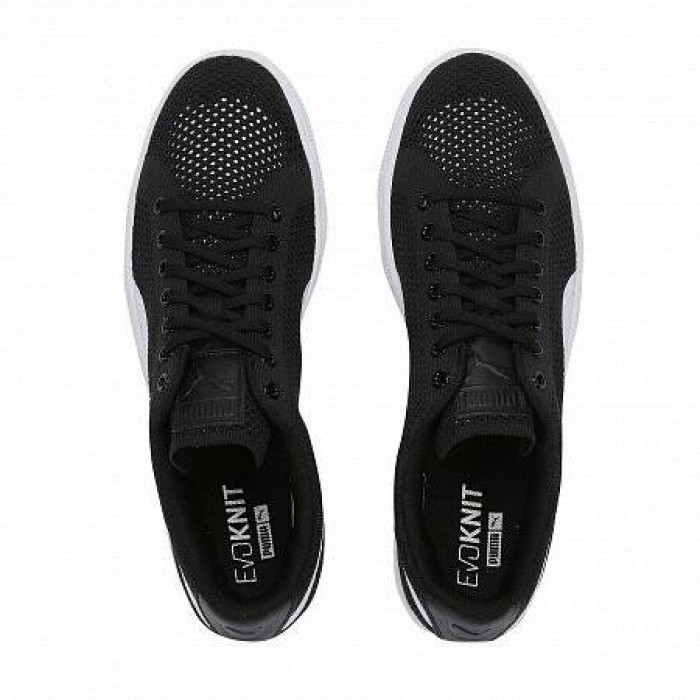 Кроссовки Puma BASKET CLASSIC EVOKNIT (Цвет Black-White)