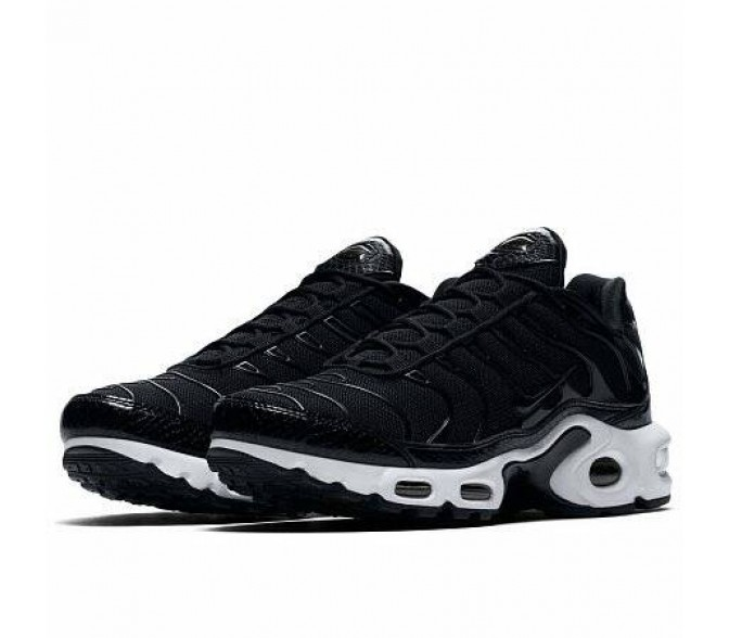 Кроссовки Nike AIR MAX PLUS SE (Цвет Black-Dark Grey)