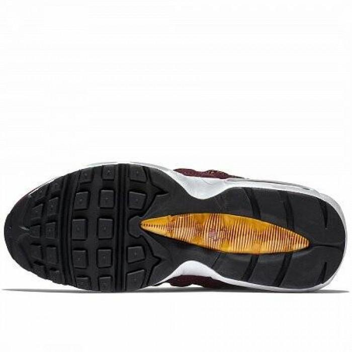 Кроссовки Nike AIR MAX 95 PREMIUM (Цвет Bordeaux-Yellow)