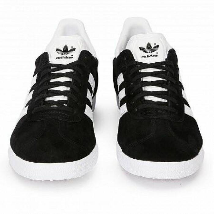 Кроссовки Adidas Originals GAZELLE (Цвет Black-White)