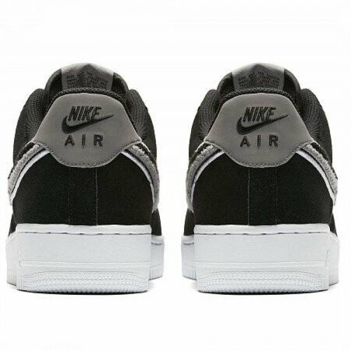 Кроссовки Nike AIR FORCE 1 '07 LV8 (Цвет Black-White-Cool Grey-White)