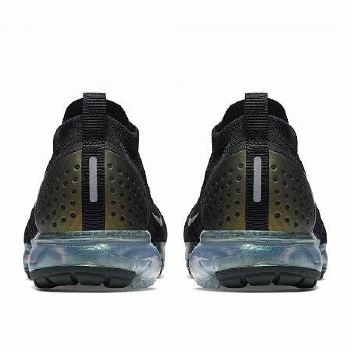 Кроссовки Nike AIR VAPORMAX FLYKNIT 2 (Цвет Black-Multi-Color-Metallic Silver)