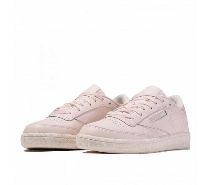 Кроссовки Reebok Classic CLUB C 85 (Цвет Pale Pink-Chalk-Pale Pink)