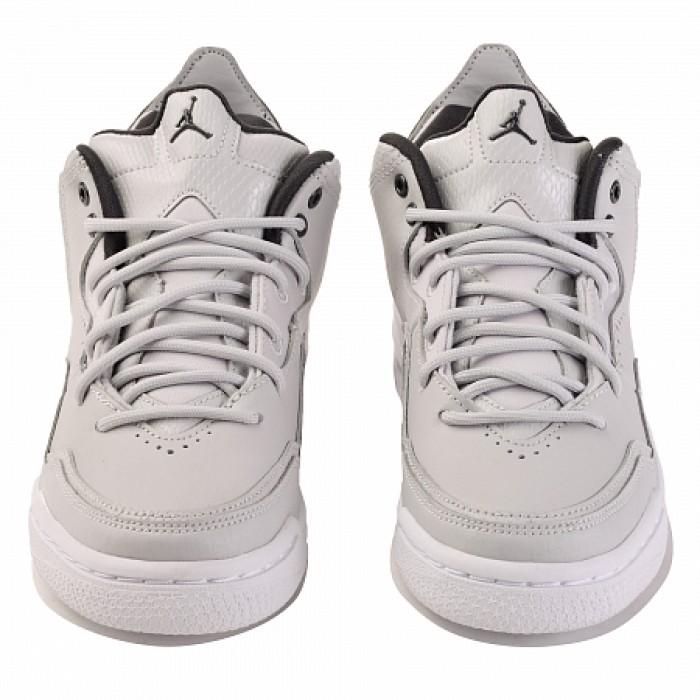 Кроссовки Jordan COURTSIDE 23 (Цвет Grey Fog-Dk Smoke Grey-White)