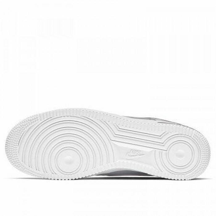 Кроссовки Nike AIR FORCE 1 '07 3 (Цвет White-Gym Red)