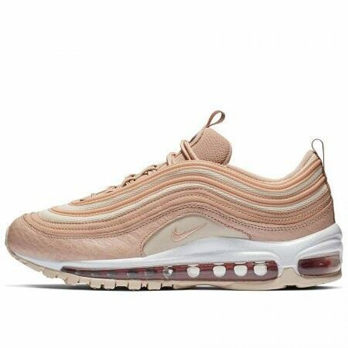 Кроссовки Nike AIR MAX 97 LUX (Цвет Bio Beige-Light Carbon)