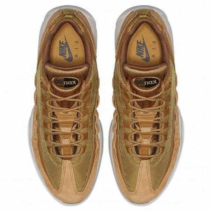 Кроссовки Nike AIR MAX 95 SE (Цвет Wheat-Wheat-Light Bone-Black)
