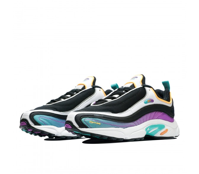 Кроссовки Reebok Classic DAYTONA DMX (Цвет Gradation-Black-Timeless Teal-Aubergine)