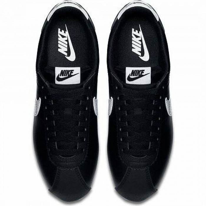 Кроссовки Nike CLASSIC CORTEZ LEATHER (Цвет Black-White-Black)