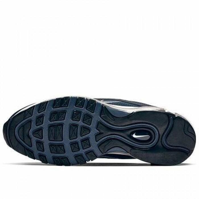 Кроссовки Nike AIR MAX 97 ESSENTIAL (Цвет Obsidian-Obsidian Mist-Monsoon Blue)