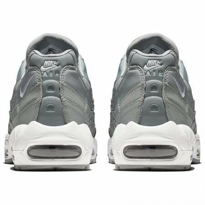 Кроссовки Nike AIR MAX 95 ESSENTIAL (Цвет Wolf Grey-White)