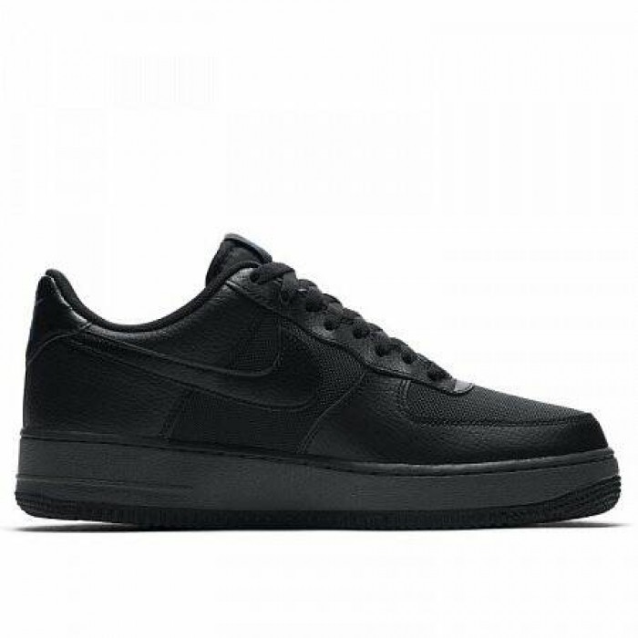 Кроссовки Nike AIR FORCE 1 (Цвет Black-Racer Blue-Anthracite)