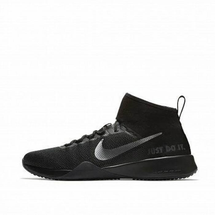 Кроссовки Nike AIR ZOOM STRONG 2 SELFIE (Цвет Black-Chrome)