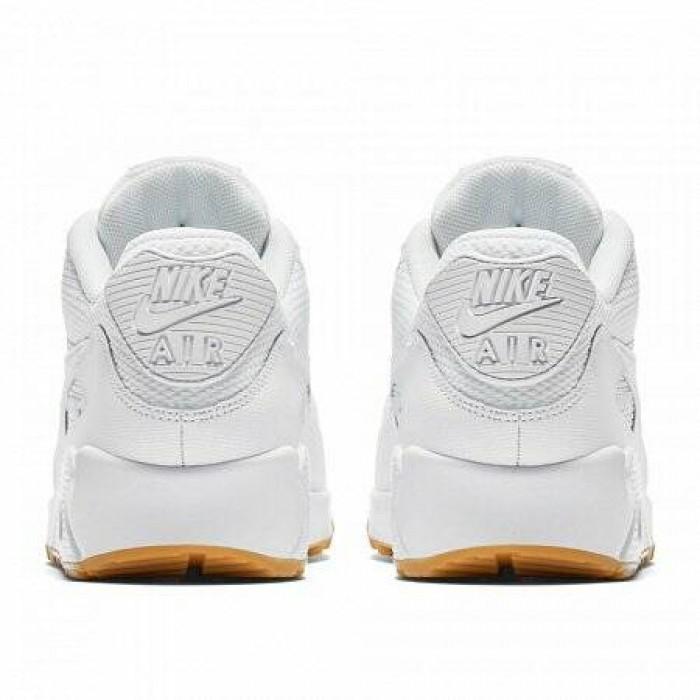 Кроссовки Nike AIR MAX 90 (Цвет White-White-Gum Light Brown)