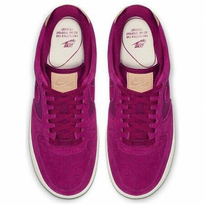 Кроссовки Nike AIR FORCE 1 '07 PREMIUM SHOE (Цвет True Berry-Summit White)