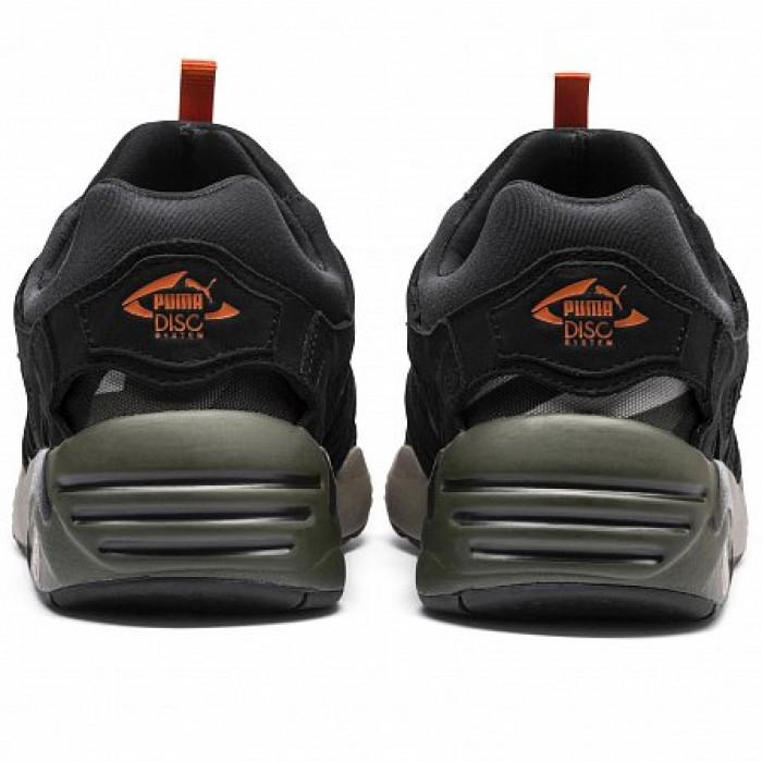 Кроссовки Puma DISC BLAZE CAMO (Цвет Elephant Skin-Black)
