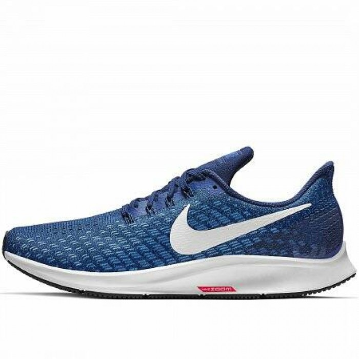 Кроссовки Nike AIR ZOOM PEGASUS 35 (Цвет Indigo Force-White-Photo Blue-Blue Void)
