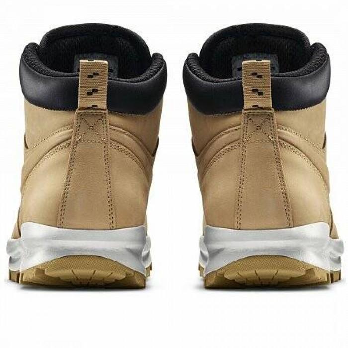 Кроссовки Nike MANOA LEATHER BOOT (Цвет Hystack-Hystack-Velvet Brown)
