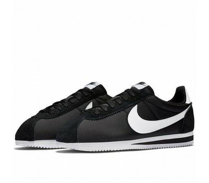 Кроссовки Nike CLASSIC CORTEZ NYLON (Цвет Black-White)