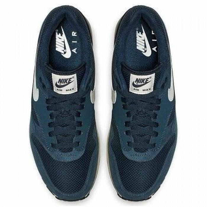 Кроссовки Nike AIR MAX 1 (Цвет Armory Navy-Sail-Sail-Black)