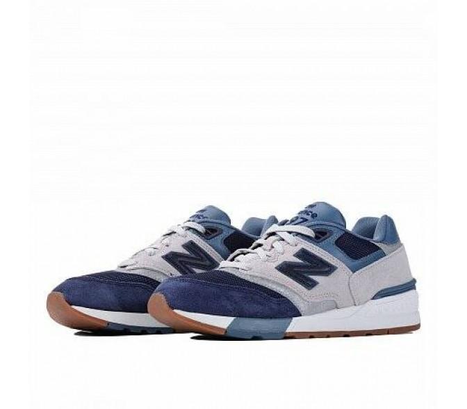 Кроссовки New Balance 597 (Цвет White-Blue-Blue)