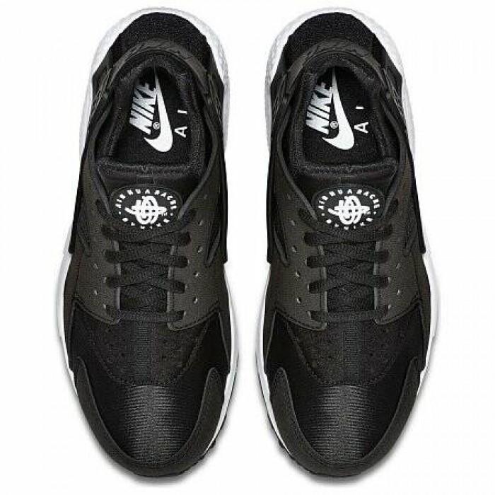 Кроссовки Nike AIR HUARACHE RUN (Цвет Black-White)