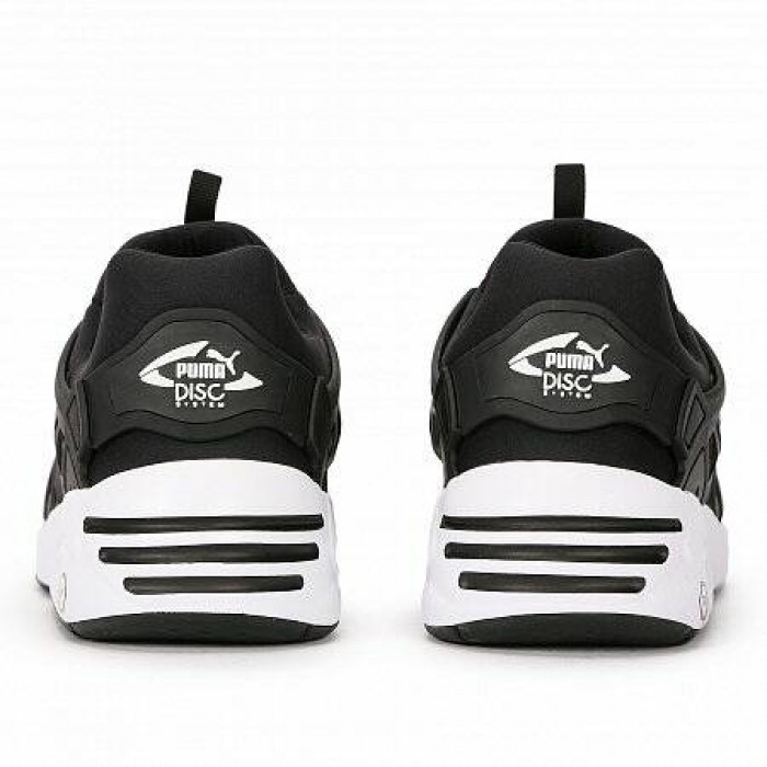 Кроссовки Puma DISC BLAZE BLACK WHITE (Цвет Black)