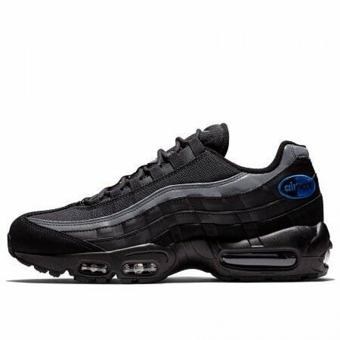 Кроссовки Nike AIR MAX 95 (Цвет Black-Anthracite-Game Royal)