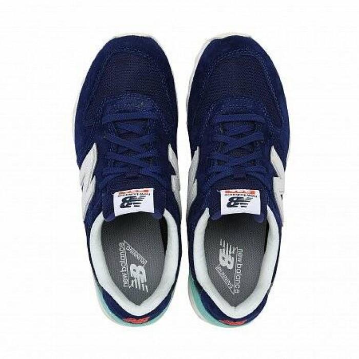 Кроссовки New Balance 996 (Цвет Blue-Turquoise-White)