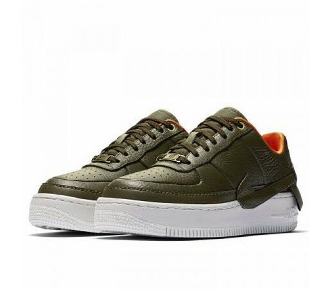 Кроссовки Nike AIR FORCE 1 JESTER XX PREMIUM (Цвет Olive Canvas-Summit White)