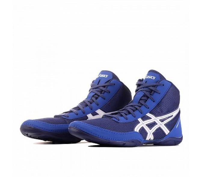 Кроссовки ASICS MATFLEX 5 (Цвет Indigo Blue-White)