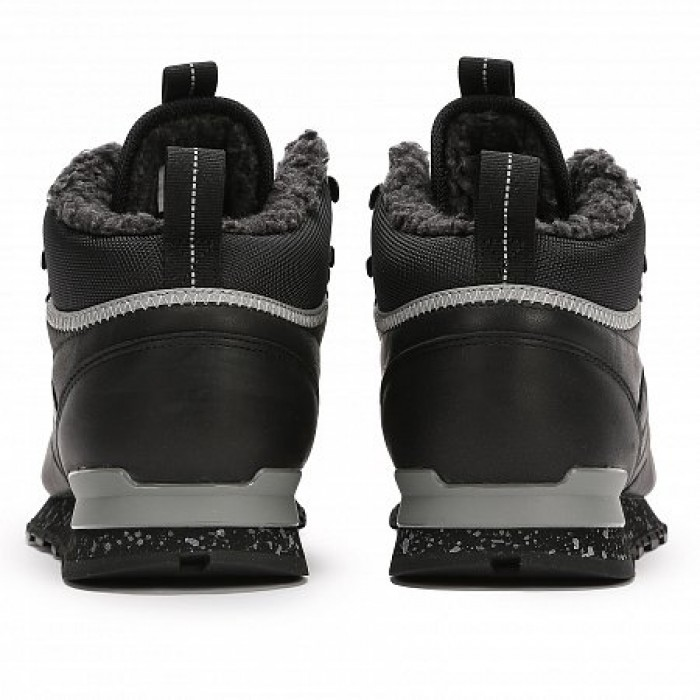 Кроссовки Reebok Classic CLASSIC LEATHER MID SHERPA II PERFECT SPLIT (Цвет Black-Gray)