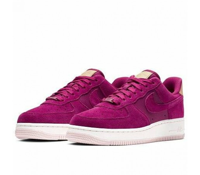 Кроссовки Nike AIR FORCE 1 '07 PREMIUM SHOE (Цвет True Berry-Summit White)