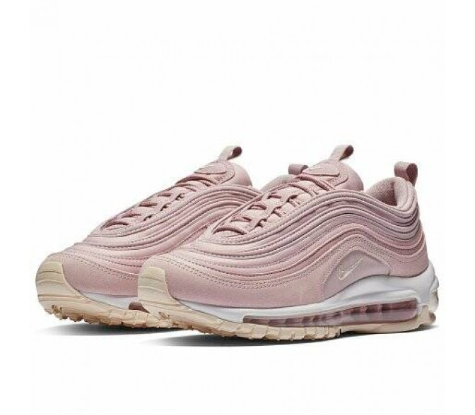 Кроссовки Nike AIR MAX 97 PREMIUM (Цвет Plum Chalk-Light Cream-Particle Rose)