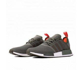 NMD_R1 (Цвет Base Green-Night Cargo-Solar Orange)