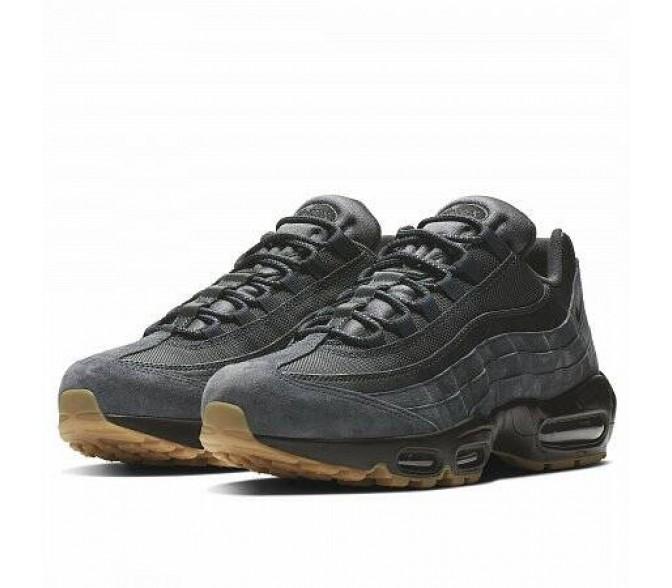 Кроссовки Nike AIR MAX 95 SE (Цвет Anthracite-Anthracite-Black-Black)