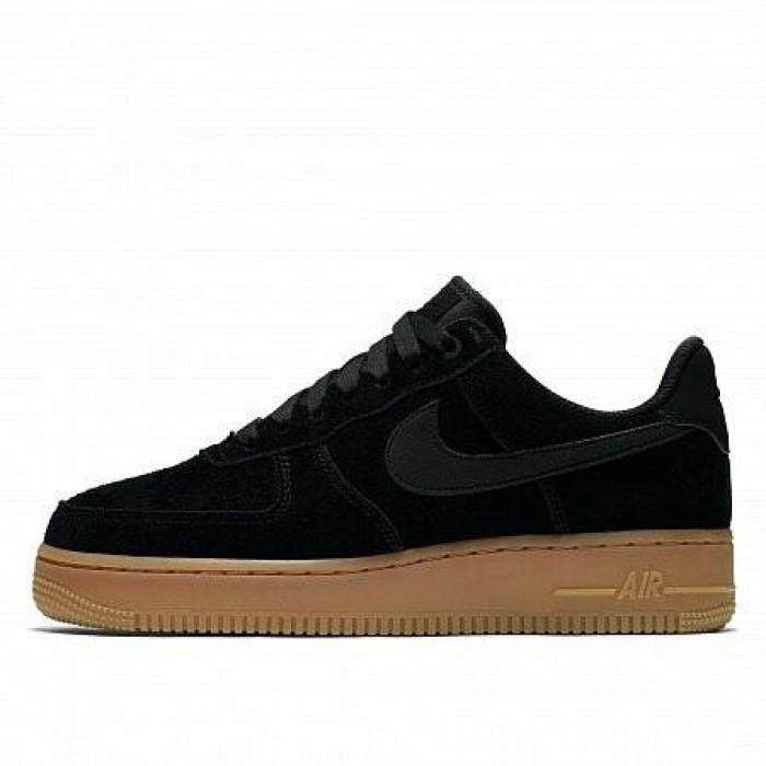 Кроссовки Nike AIR FORCE 1 07 SE (Цвет Black)