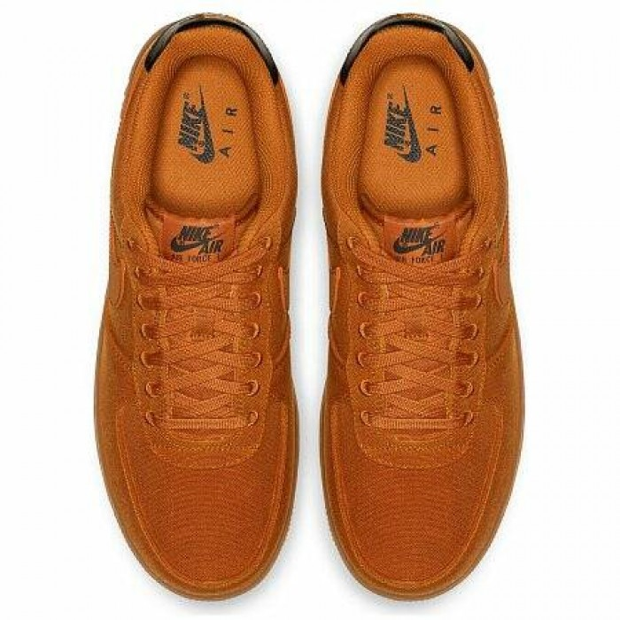 Кроссовки Nike AIR FORCE 1 '07 LV8 STYLE (Цвет Monarch-Gum Med Brown-Black)