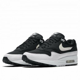 AIR MAX 1 (Цвет Black-White Leather)