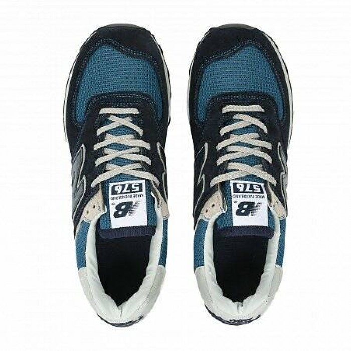 Кроссовки New Balance 576 OG PACK MADE IN ENGLAND (Цвет Navy-Grey)