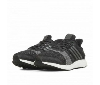 ULTRA BOOST ST (Цвет Core Black-Iron Met-Dgh Solid Grey)