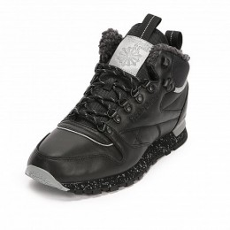 CLASSIC LEATHER MID SHERPA II PERFECT SPLIT (Цвет Black-Gray)