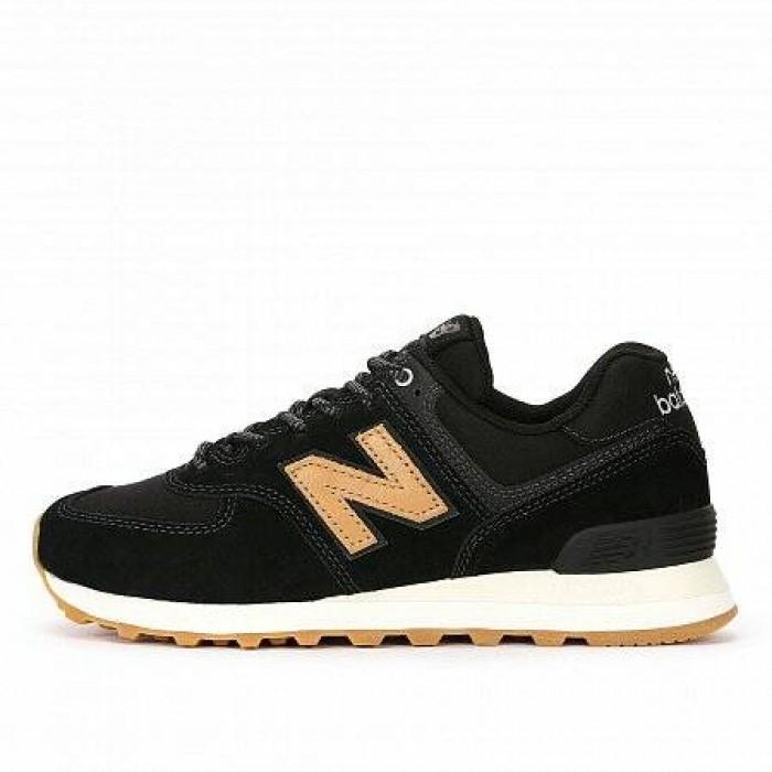 Кроссовки New Balance 574 (Цвет Black-Brown)