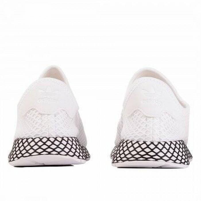 Кроссовки Adidas Originals DEERUPT RUNNER (Цвет Cloud White-Cloud White-Core Black)